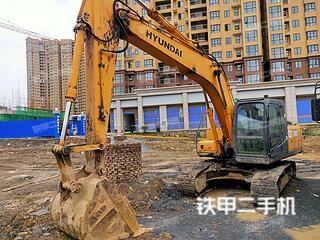 二手现代 R215-7 挖掘机转让出售