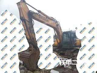 贵州-黔南布依族苗族自治州二手现代R215-7C挖掘机实拍照片