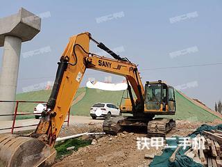 三一重工SY225C挖掘机实拍图片