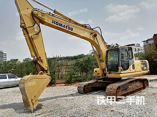 云南-昆明市二手小松PC220-8挖掘机实拍照片