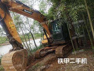 湖北-武汉市二手三一重工SY135C挖掘机实拍照片