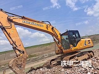 安徽-合肥市二手龙工LG6225E挖掘机实拍照片