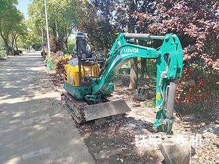 雷沃重工FR18E2-u挖掘机实拍图片