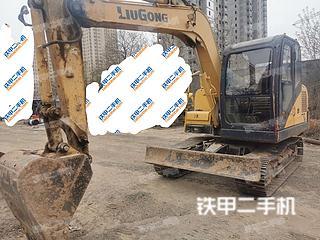 陕西-渭南市二手柳工CLG908DN挖掘机实拍照片