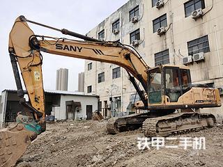 陕西-西安市二手三一重工SY235C挖掘机实拍照片