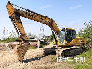 鞍山三一重工SY215C挖掘机实拍图片