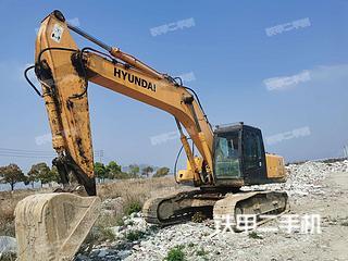 浙江-绍兴市二手现代R265LC-7挖掘机实拍照片