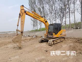 龍工LG6150挖掘機實拍圖片