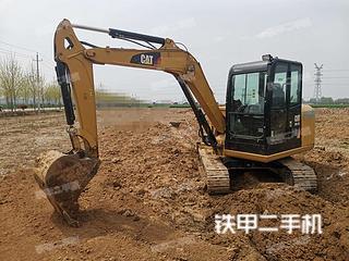 许昌卡特彼勒305.5E2小型液压挖掘机实拍图片