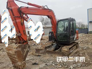 许昌日立ZX70-5G挖掘机实拍图片
