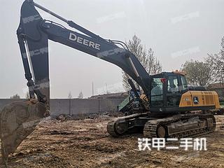 山东-淄博市二手约翰迪尔E360LC挖掘机实拍照片