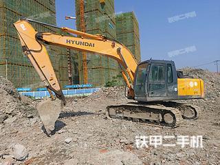 浙江-丽水市二手现代R215-7C挖掘机实拍照片
