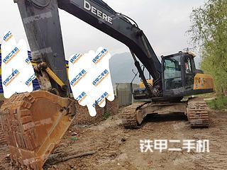 陕西-渭南市二手约翰迪尔E330LC挖掘机实拍照片