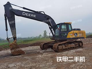 湖北-荆州市二手约翰迪尔E210LC挖掘机实拍照片