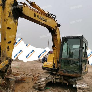 陕西-西安市二手现代R80-7挖掘机实拍照片