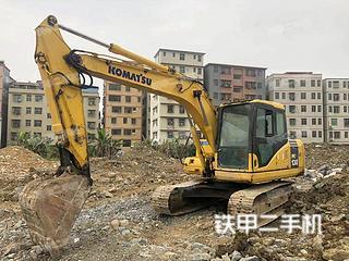 广东-韶关市二手小松PC130-7挖掘机实拍照片