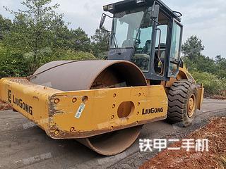 云南-曲靖市二手柳工CLG622压路机实拍照片