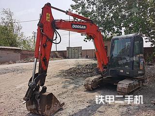 安阳斗山DH60-7挖掘机实拍图片