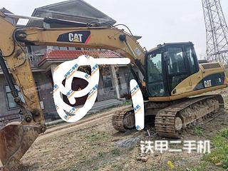 阜阳卡特彼勒315D液压挖掘机实拍图片