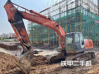 鞍山日立ZX210LC-3挖掘机实拍图片