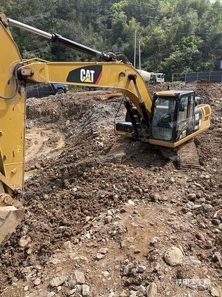 浙江-金华市二手卡特彼勒326D2L液压挖掘机实拍照片