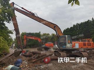 宁波日立ZX330-3G挖掘机实拍图片
