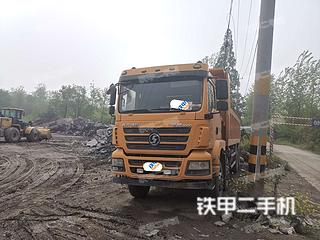 安阳陕汽重卡6X2工程自卸车实拍图片