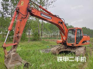安徽-蚌埠市二手斗山DH225LC-7挖掘机实拍照片