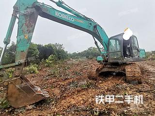 广西-桂林市二手神钢SK200-8挖掘机实拍照片