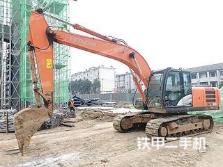 宁波日立ZX200-5G挖掘机实拍图片