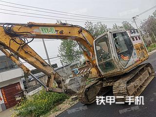 阜阳住友SH120挖掘机实拍图片