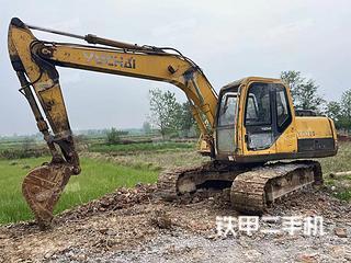 南宁玉柴YC135-8挖掘机实拍图片