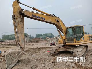 安徽-宿州市二手小松PC210LC-8挖掘机实拍照片