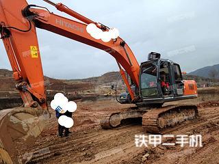 固原日立ZX240-3G挖掘机实拍图片