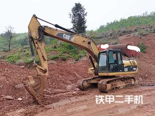 安顺卡特彼勒320D液压挖掘机实拍图片