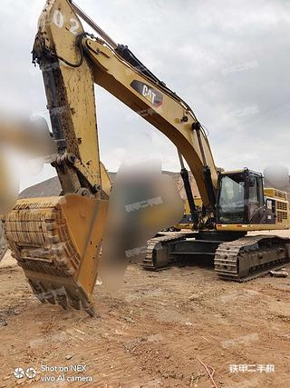 臨夏卡特彼勒349D2L液壓挖掘機實拍圖片