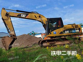 湖北-荆州市二手卡特彼勒320D液压挖掘机实拍照片