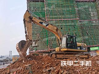河南-郑州市二手卡特彼勒323DL挖掘机实拍照片