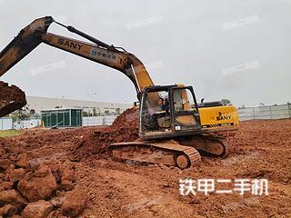 三一重工SY210C挖掘機實拍圖片