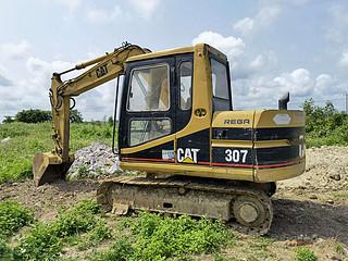 二手卡特彼勒挖掘机左后45实拍图164