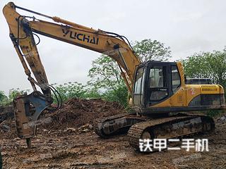 南宁玉柴YC210LC-8挖掘机实拍图片