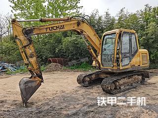 南宁玉柴YC85-7挖掘机实拍图片
