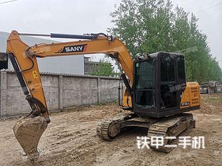 阜阳三一重工SY75C-10挖掘机实拍图片