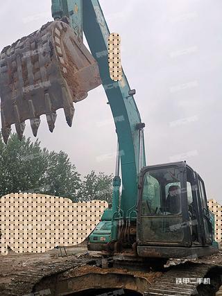 四川-成都市二手神钢SK250-10挖掘机实拍照片