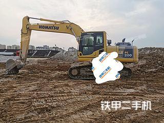江苏-徐州市二手小松PC200-8M0挖掘机实拍照片