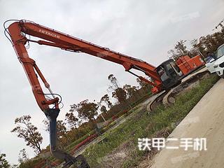宁波日立ZX470LCH-3挖掘机实拍图片