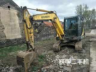 山东-青岛市二手现代R55-7挖掘机实拍照片