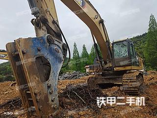 湖南-长沙市二手卡特彼勒336D2液压挖掘机实拍照片