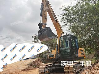 三一重工SY135C挖掘机实拍图片