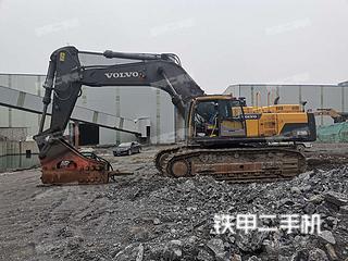 沃尔沃EC750DL挖掘机实拍图片
